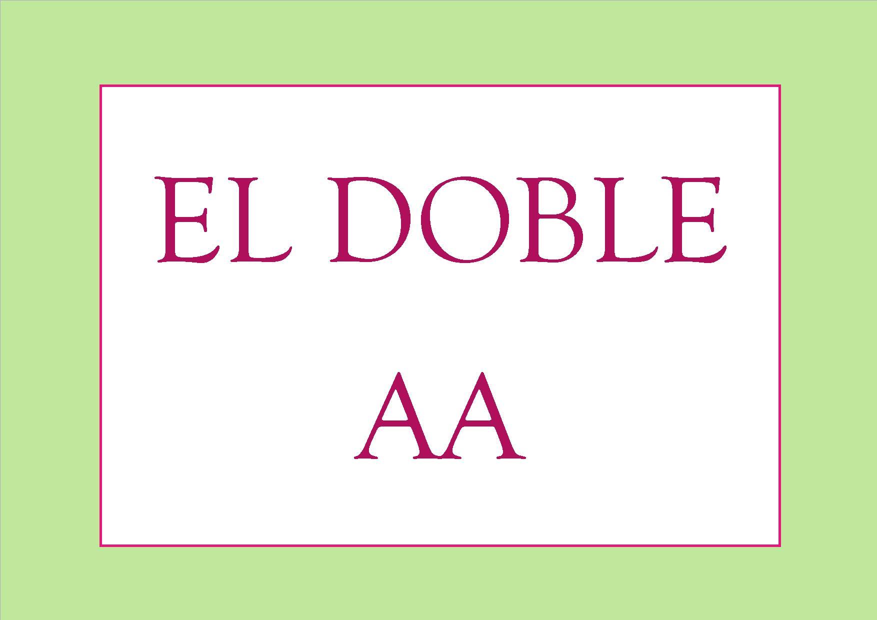 El doble AA  ¡ ahorra en productos de limpieza !
